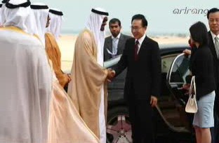 Pres. Lee Attends Groundbreaking Ceremony for UAE's Nuclear Plant