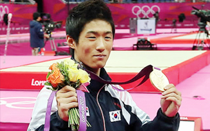 Yang Hak-seon Wins Korea's First Ever Gold in Gymnastics