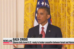 Obama ready to broker ceasefire in Gaza