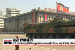 U.S. monitoring possible WMD cooperation between N. Korea, Iran & Syria: official