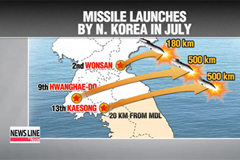 As N. Korea launches more missiles, calls for dialogue intensify