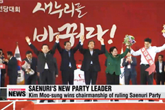 Ruling Saenuri Party elects new party leader
