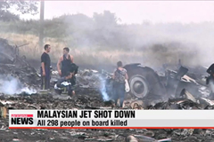 Malaysia Airlines MH17 'shot down,' killing all on board