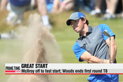 McIlroy tops Open Championship leaderboard after first round