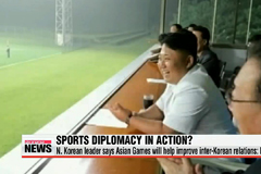 N. Korean leader says Asian Games will help improve inter-Korean relations: KCNA