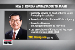 Fmr. Four-term lawmaker tapped as new Korean ambassador to Japan
