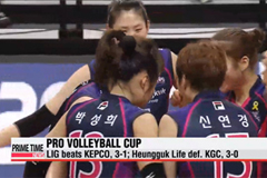 Day 4 at the Ansan-Woori Card Pro Volleyball Cup