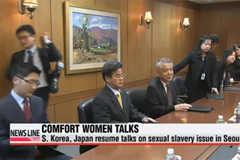 S. Korea, Japan to resume sexual slavery talks today