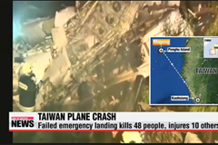Dozens dead in Taiwan passenger plane crash