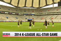 K-League All-star takes place later today with Park Ji-sung and crew