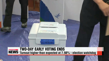 Two-day early voting period for July 30 by-elections comes to close