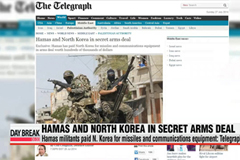 Hamas and North Korea make secret arms deal - report