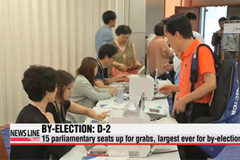 Rival parties make last push before July 30 by-elections