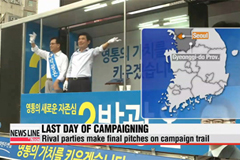 Rival parties make final pitches on last day of campaigning for by-election