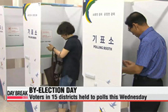 By-election day: voters in 15 districts held to polls this Wednesday