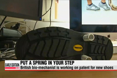 New shoe aims to prevent shin splints