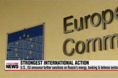 EU, U.S. announce new sanctions on Russia over Ukraine
