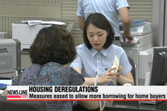 Gov't housing regulations to ease starting Friday