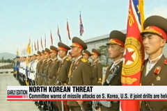 N. Korea threatens S. Korea, U.S. over joint military drills