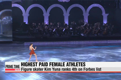 Kim Yuna named fourth highest paid female athlete
