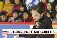 Kim Yu-na listed at 4th highest paid female athlete
