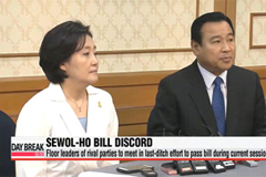 Last-ditch effort for Korea's rival parties to agree on Sewol-ho bill