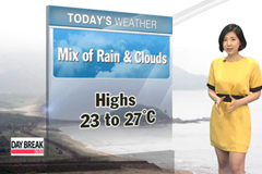 Rain continue to fall across the country