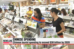 Chinese tourist spending to exceed $30 billion by 2020