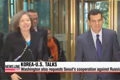Top U.S. Treasury official on sanction affairs and S.Korean counterparts discuss sanctions against N. Korea and Russia