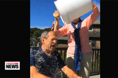 Ice Bucket Challenge goes viral around the world, including in Korea