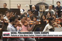 Seoul Philharmonic Orchestra begins 2014 European tour in Finland
