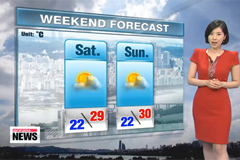Getting sunnier, temps on the rise