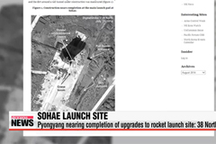 North Korea nearing completion of rocket pad upgrades: 38 North