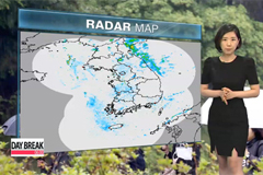 Rain in the east, mix of sun and clouds for the rest