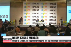 Daum-Kakao merger approved