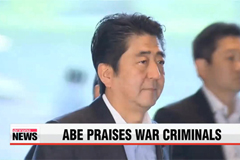 Japan's PM praised Class-A war criminals for being 'foundation' of Japan's prosperit