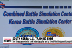 South Korea-U.S. annual military training ends one day early