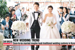 Korea's changing wedding culture