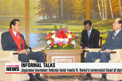 Japanese lawmaker meets N. Korea's ceremonial head of state