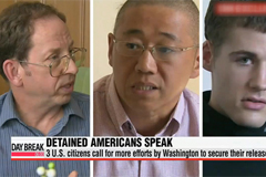 Detained U.S. citizens urge Washington to swiftly win release from North Korea