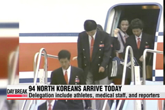 N. Korea's Asian Games delegation begins arriving in S. Korea
