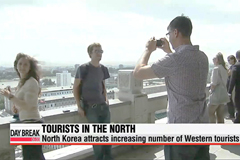 North Korea attracts increasing number of western tourists