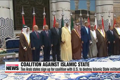 Ten Arab states join U.S. in fighting against Islamic State