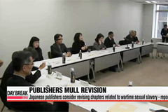 Japanese publishers consider revising chapters related to wartime sexual slavery - report