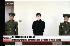 North Korea sentences U.S. citizen to six years of hard labor