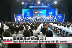 Opening of Incheon Asian Games 2014 just four days away