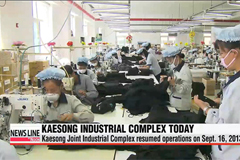 One-year anniversary of resumption of Kaesong Industrial Park