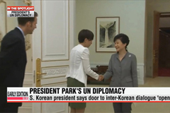 President Park's diplomacy to be tested at UN General Assembly