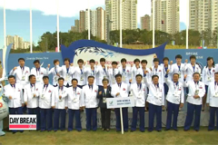 Flag raising ceremony takes play at athlete's village