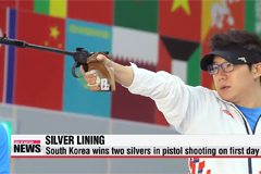 South Korean athletes also grab handful of silver medals at Incheon Asian Games